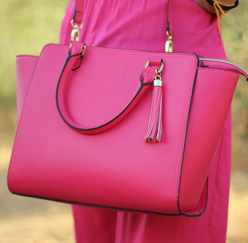 Total look fucsia